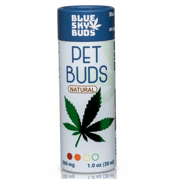 Hemp Oil For Pets & Dogs – THC Free | Blueskybuds